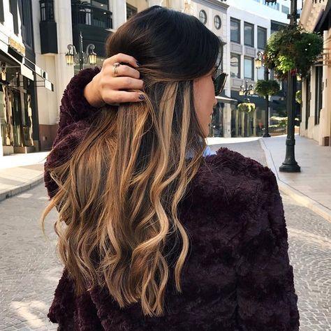 La coloration de l'automne ? Les cheveux 'œildetigre