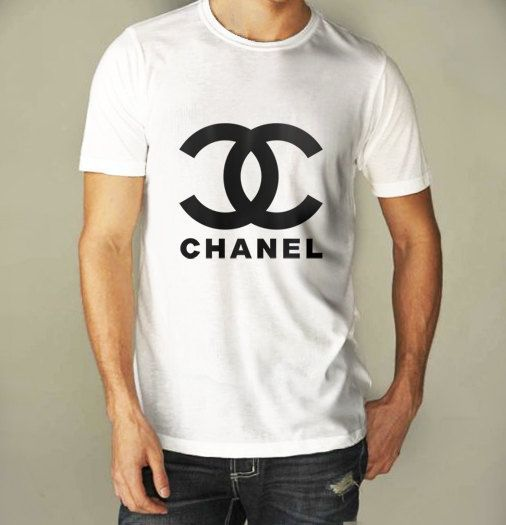 Chanel Logo For Men White Shirt S to XXXL by CahyaAbadi on Etsy, $21.25