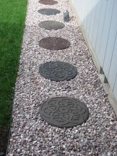 Pin By Nicole Edenfield On My Patio Porch Decorative Stepping Stones Rubber Stepping Stones Garden Stepping Stones