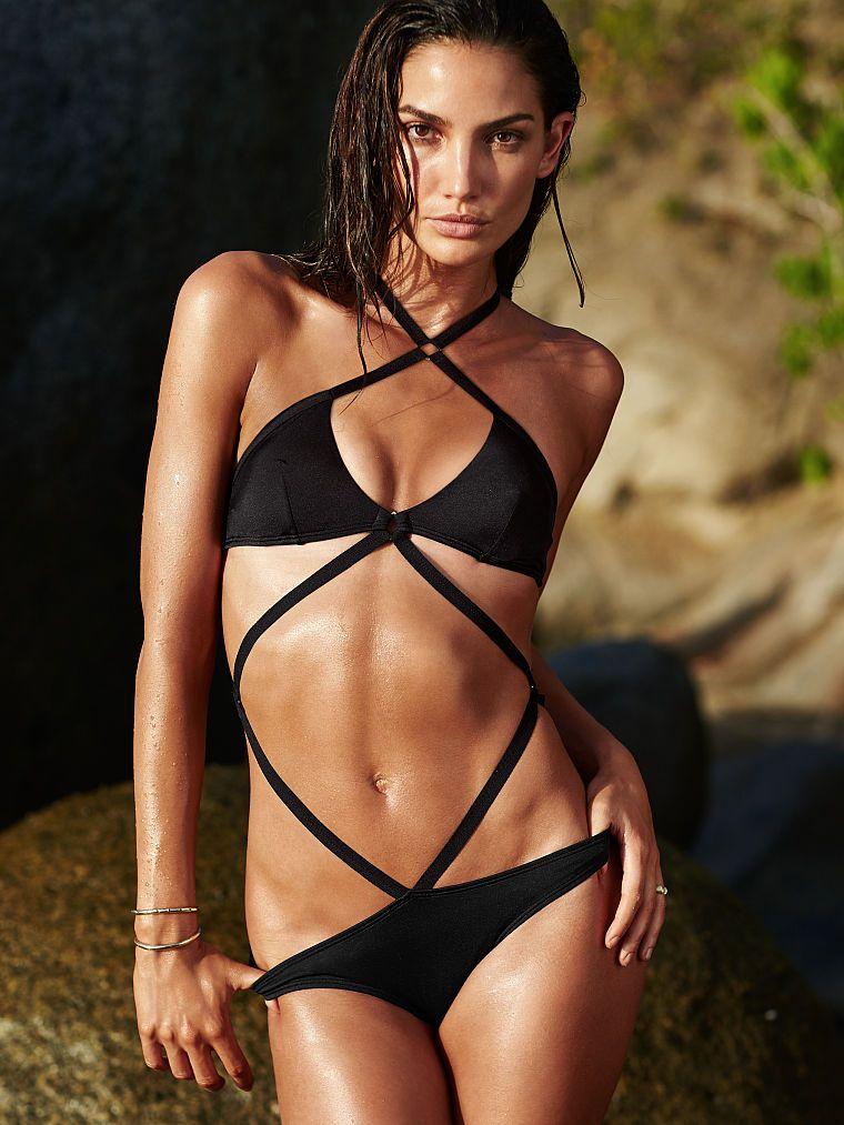 c707d42558 Strappy Monokini - Very Sexy - Victoria's Secret #beach #beaches #bikini # swim #wear #swimwear #victoria's #secret #sexy #monokini #swimsuit #suit