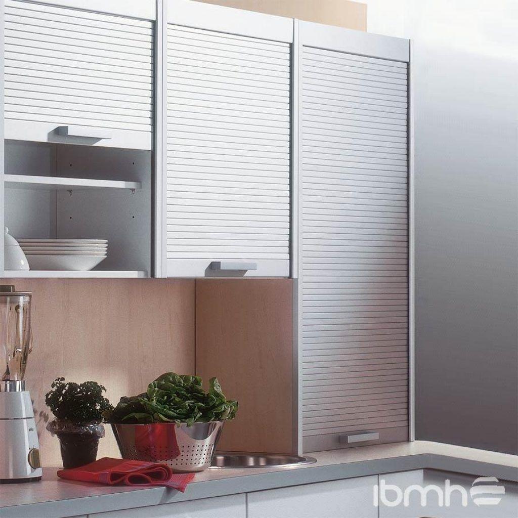 Roller Shutter Kitchen Cabinet Door Custom Kitchen Cabinets Restaining Kitchen Cabinets Kitchen Cabinets