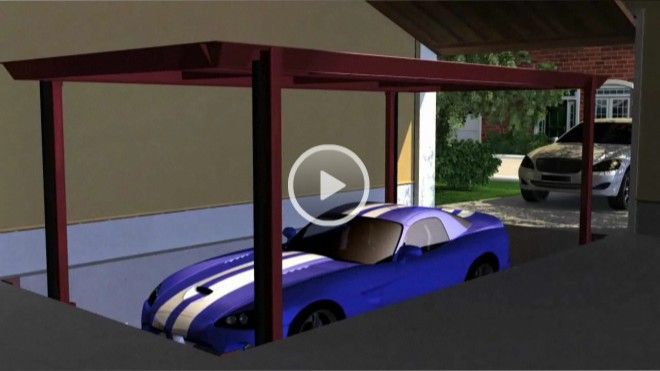 We Install Underground Garage Parking Vehicle Lifts In Your House With Affordable Prices