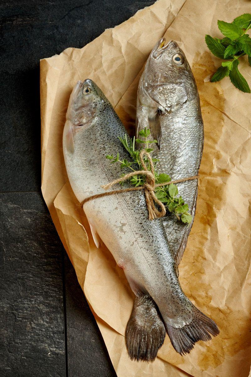 Akdeniz Usulü Sebzeli Balık Izgara