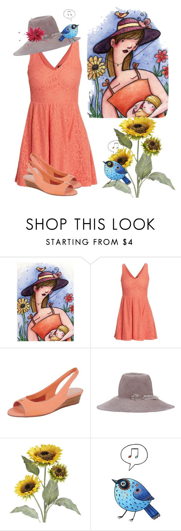 """Mother & Child"" by naviaux ❤ liked on Polyvore featuring Morgan, French Sole FS/NY, Littledoe, Pier 1 Imports, Jane Tran, women's clothing, women's fashion, women, female and woman"
