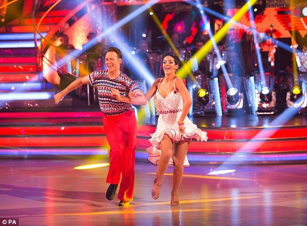 Doing their thing: Along with dance partner Kevin Clifton, the pop star is set to up to pe...