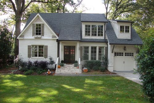 Off White Exterior Ranch House Remodel Exterior House Colors House Exterior