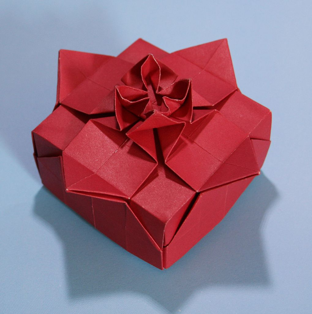 Flower Box Evan Zodl Origami Paper Art Origami Star Paper Origami Crafts