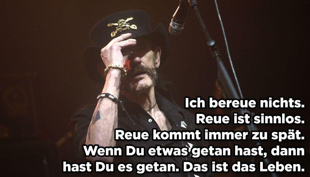 9 Spruche Mit Denen Lemmy Unvergessen Bleibt Rock N Roll Music