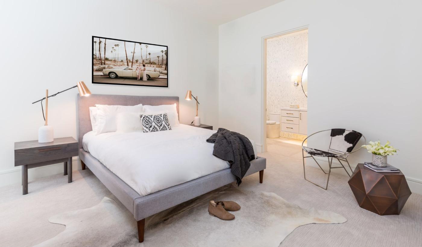 Modern Guest Bedroom, Bedroom Decor, Clean Simple Bedroom Styling ...