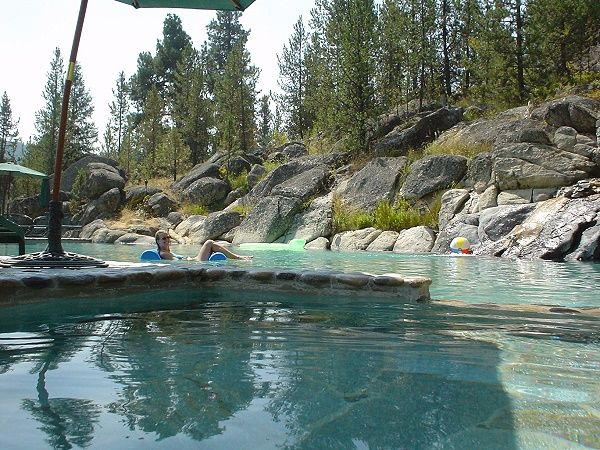 Gold Fork Hot Springs Is Our Favorite Place To Visit When We Are Camping In Donnelly Id Idaho Hot Springs Hot Pools Idaho Travel