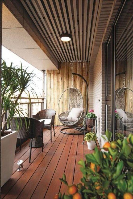 33 Ideen für die Gestaltung kleiner, komfortabler und eleganter Balkone