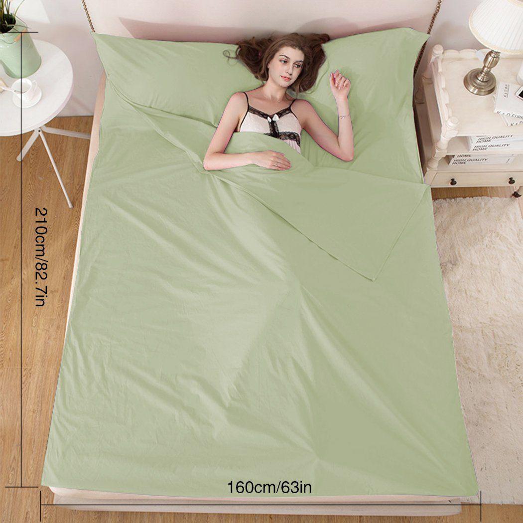 Outdoor Portable Sleeping Bag Liner Envelope Camping Travel Hotel Bed Sheet New