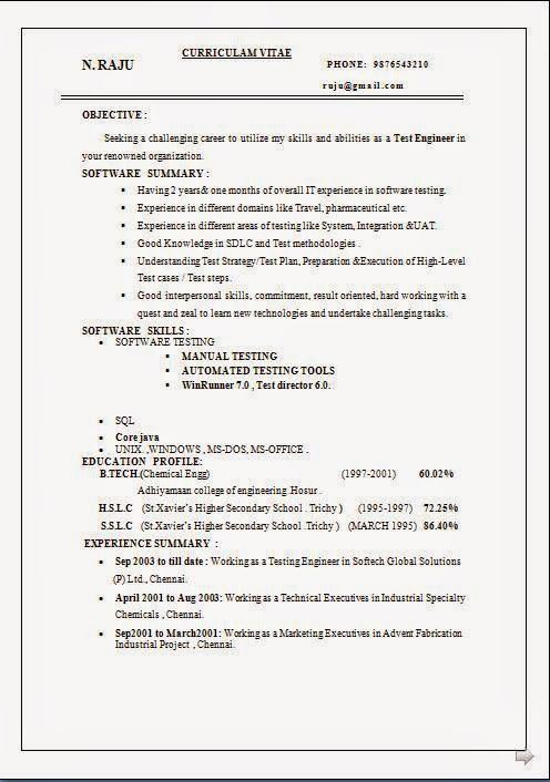 how to make impressive resume Sample Template Example of ExcellentCV - resume objective