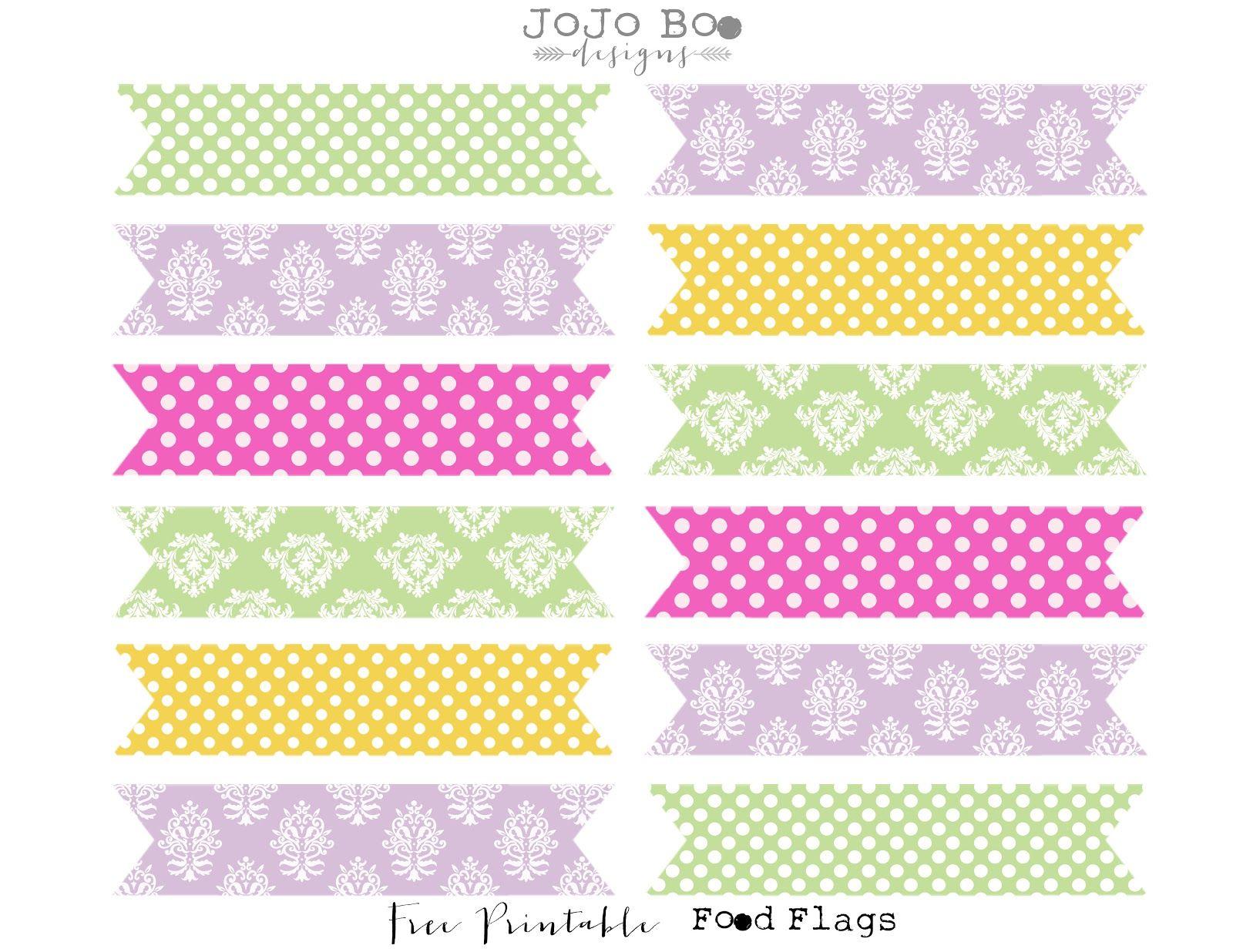 Jojo Boo Designs Sweet As A Cupcake Free Printables