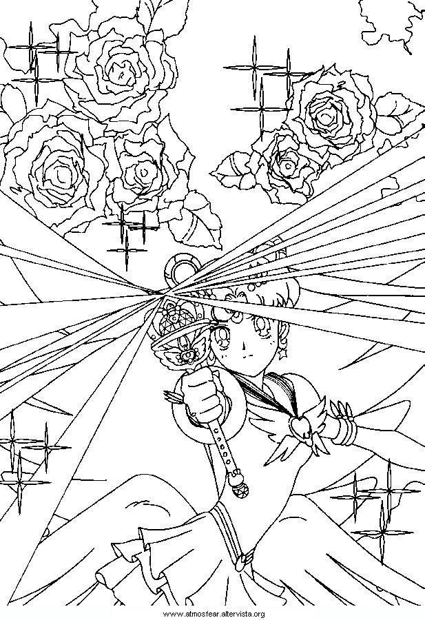 Disegni Da Colorare Sailormoon Manga Sailor Moon Coloring Pages