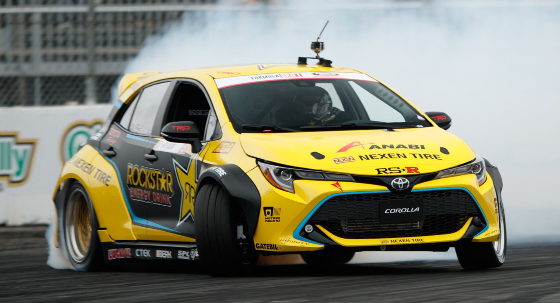 8e94e292d New Toyota Corolla Already Tearing It Up In Formula Drift With 1,000 HP  #news #Drifting