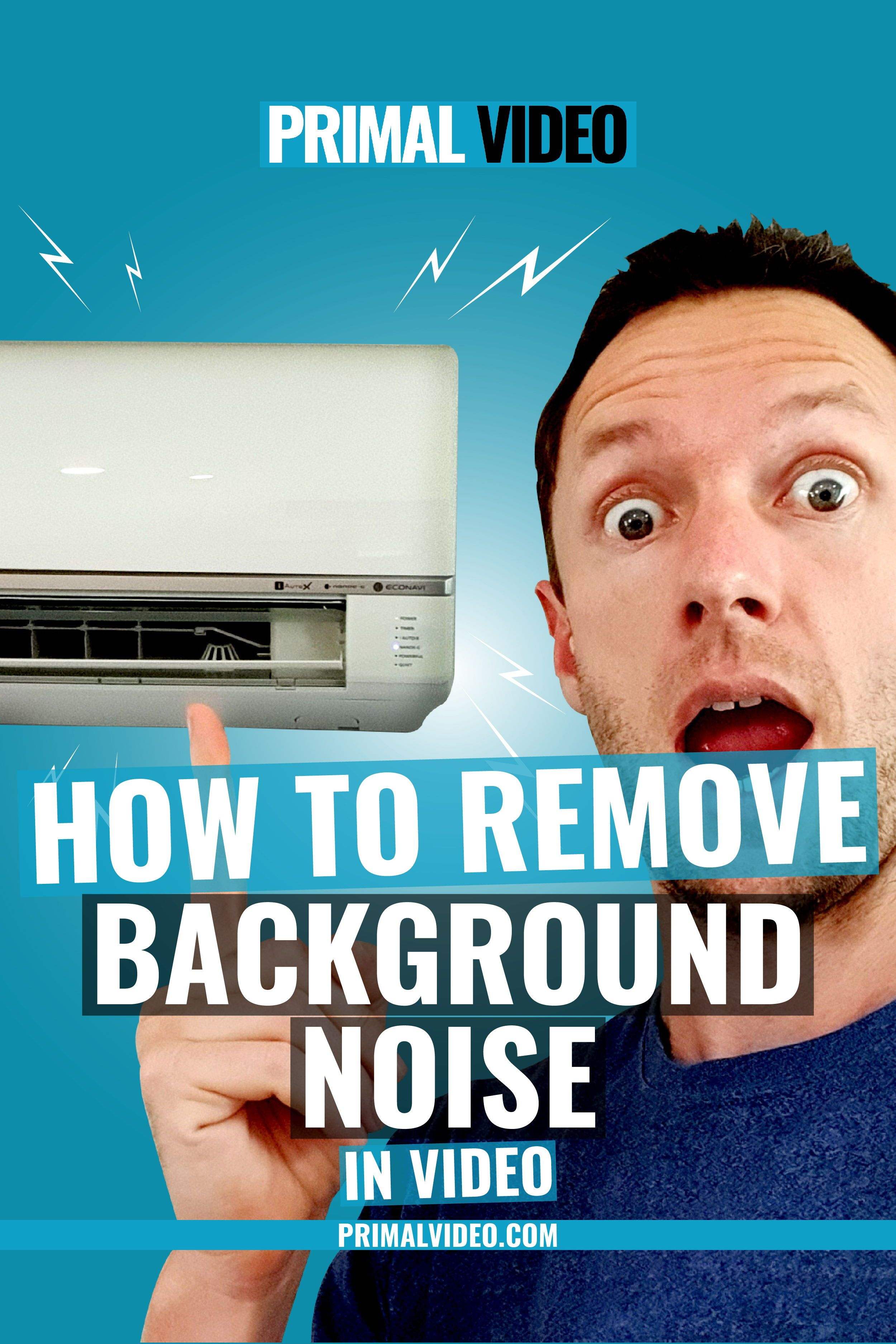 Left an aircon on while filming? Find out how to remove