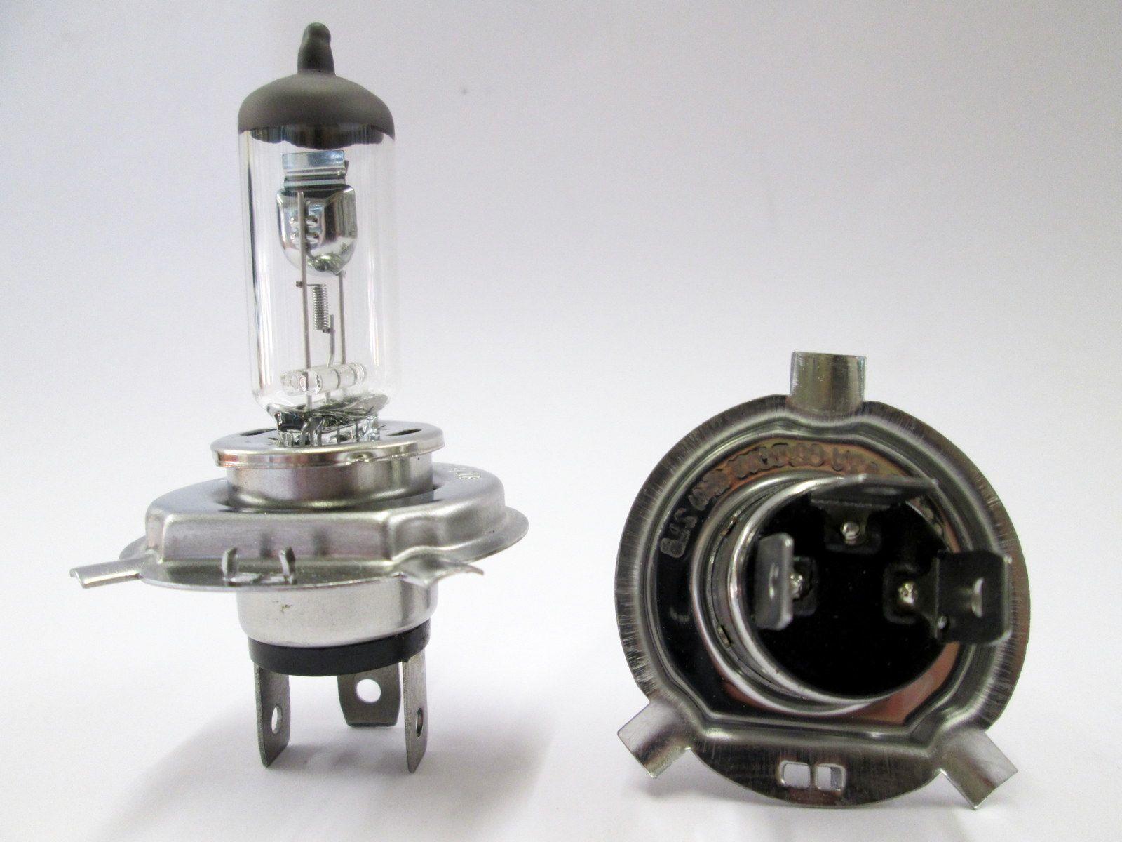 12V 60/55W P43T H4 Halogen Headlight BO472CL *Pack of 2 ...
