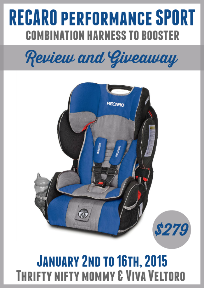 A Moms Review Of The RECARO Performance SPORT Combination Harness To Booster