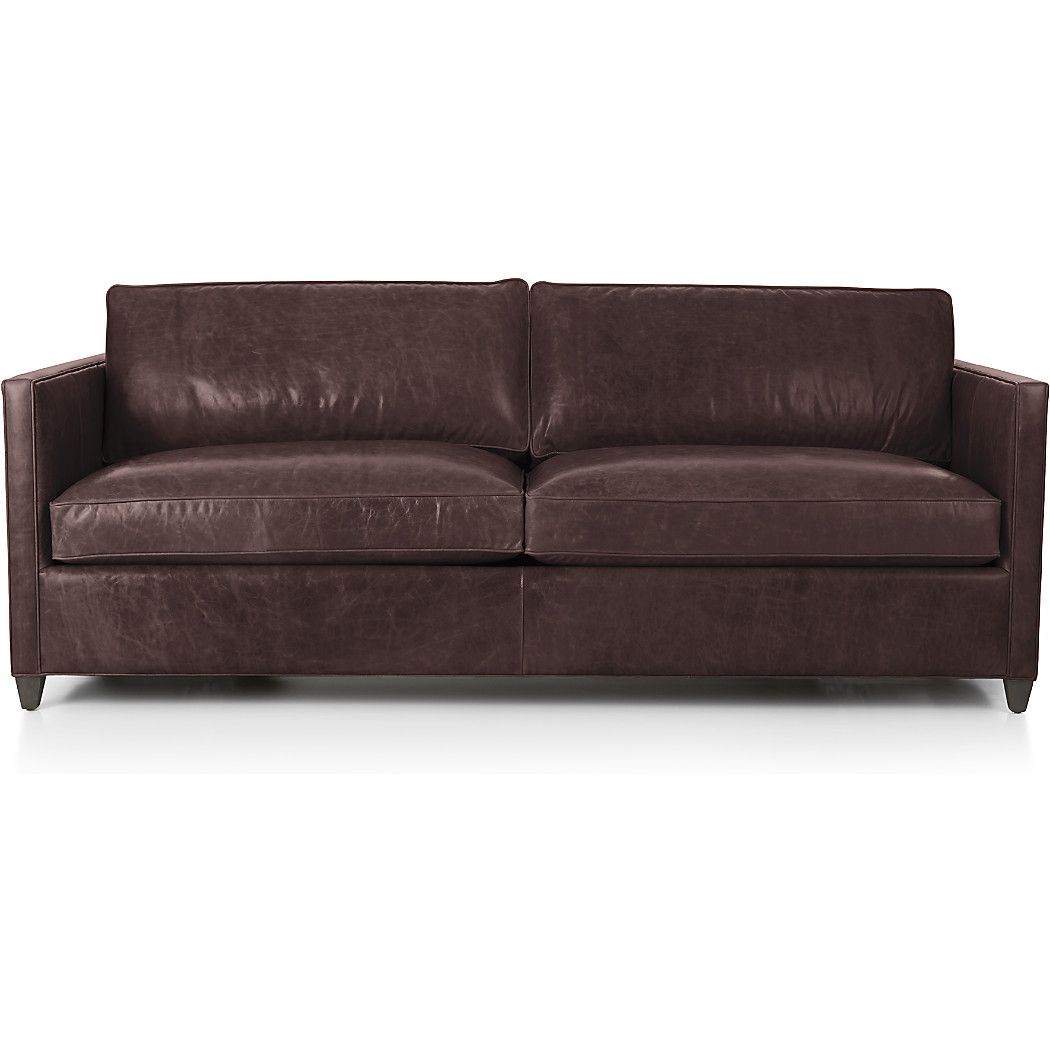 Shop Dryden Leather Sofa Waxes And Oils Used In The Finishing Process Give The Leather Its Beautiful Aged Look Tha Leather Sofa Furniture Sofa Leather Sofa
