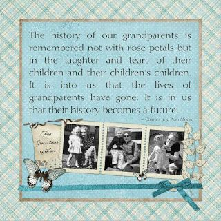 Preserving Heritage 3 generations of Love Template