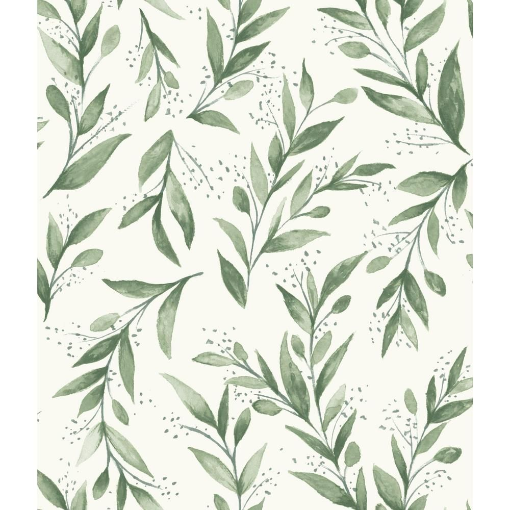 Magnolia Home By Joanna Gaines Olive Branch Paper Strippable Wallpaper Covers 56 Sq Ft Me1535 The Home Depot Farmhouse Wallpaper Joanna Gaines Wallpaper Charcoal Wallpaper