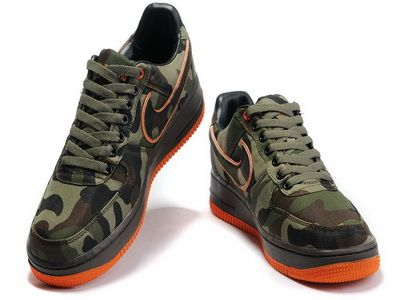 0e31d210 Nike Air Force 1 Camo Gore Tex ATF Bespoke By All Day Camouflage Swoosh