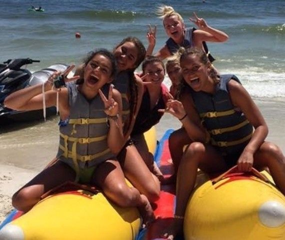 Things To Do In Gulf Ss Orange Beach The Best Banana Boat Rides Blue Sky Watersports Are A Fun Activity