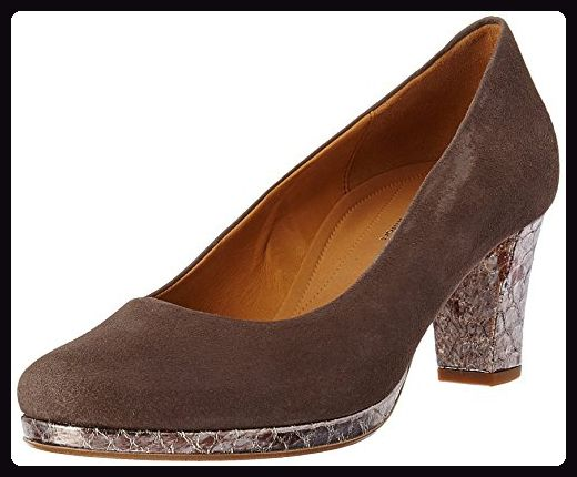 Gabor Shoes Damen Comfort Pumps, Braun (Fango Anthrazit 13), 38.5 EU -