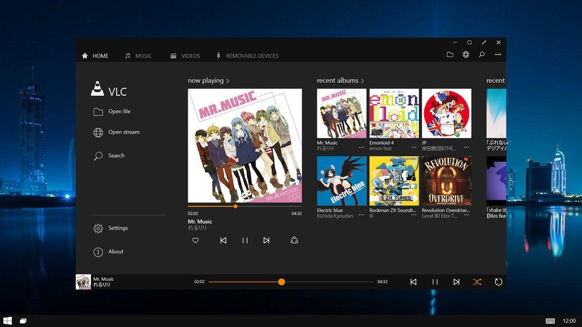 Vlc Player For Windows 10 Desktop V2 Video Converter Website Design Video