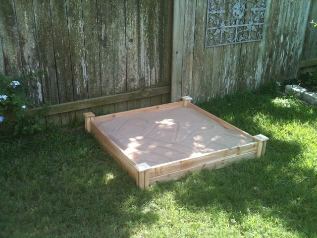 Home depot sandbox project
