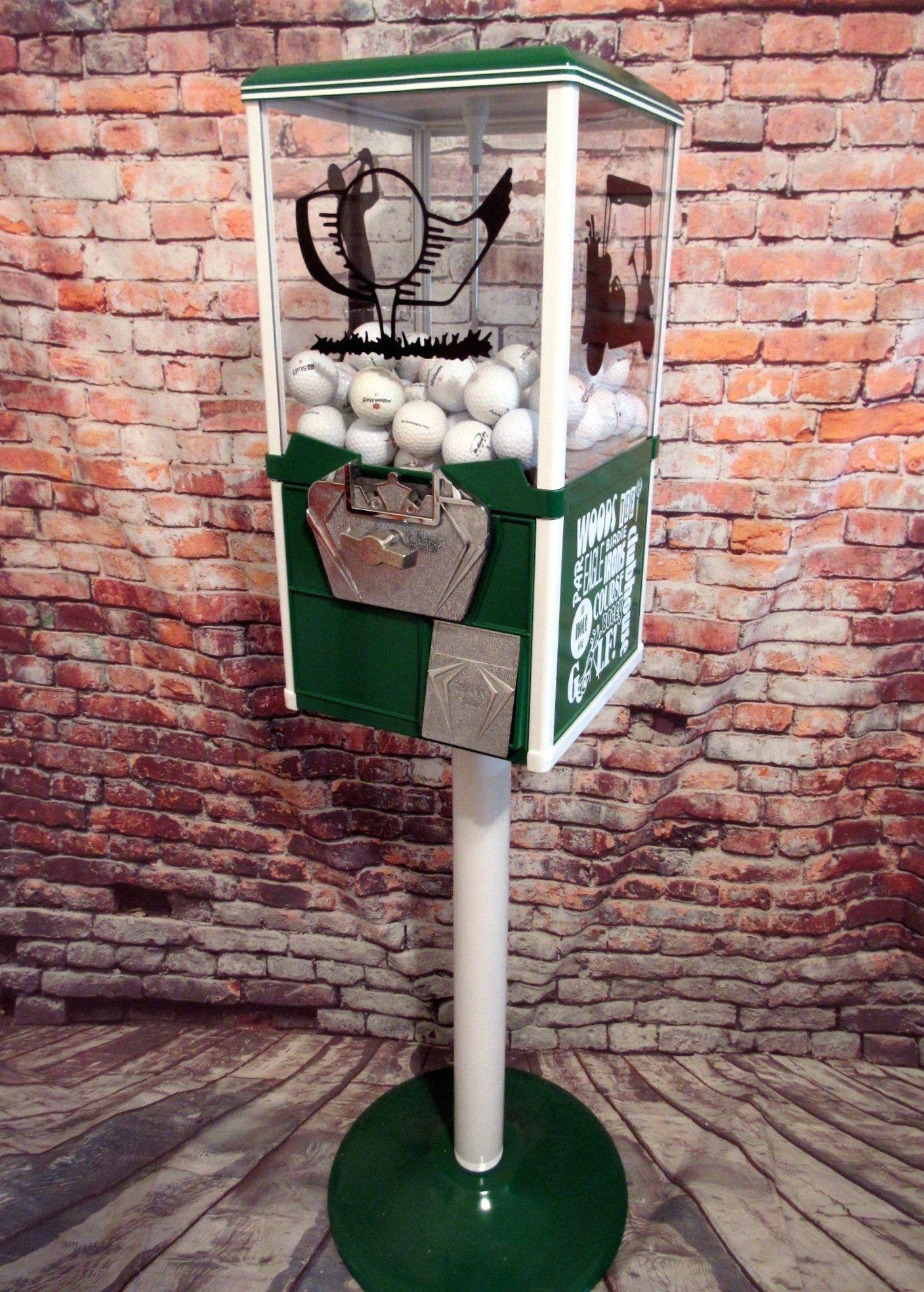 Golf ball vending machine man cave gift home decor golf