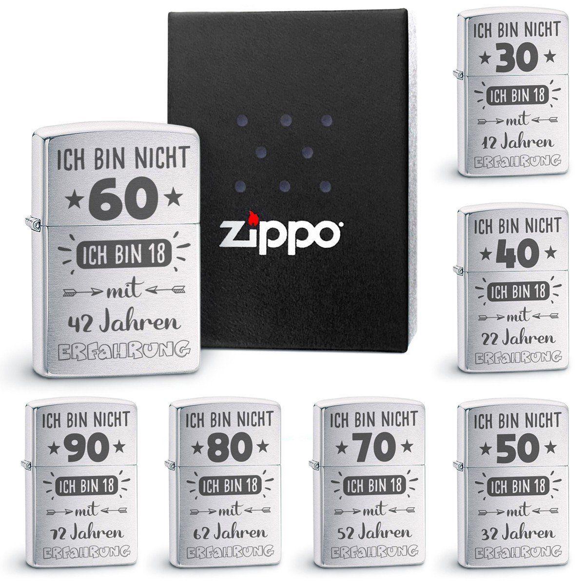 Feuerzeug Zippo Original Ich Bin Nicht 30 Feuerzeug Coole Geschenke Zippo Benzin