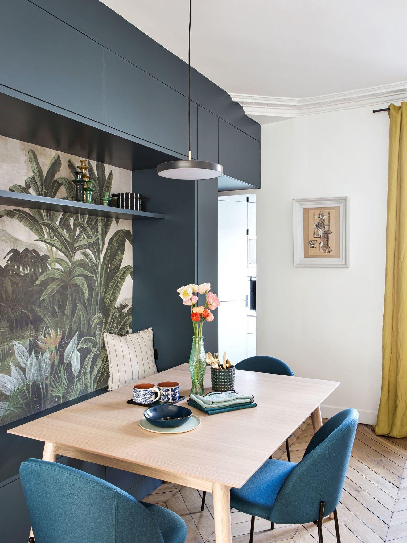 À Paris, un appartement cocon lumineux et fonctionnel