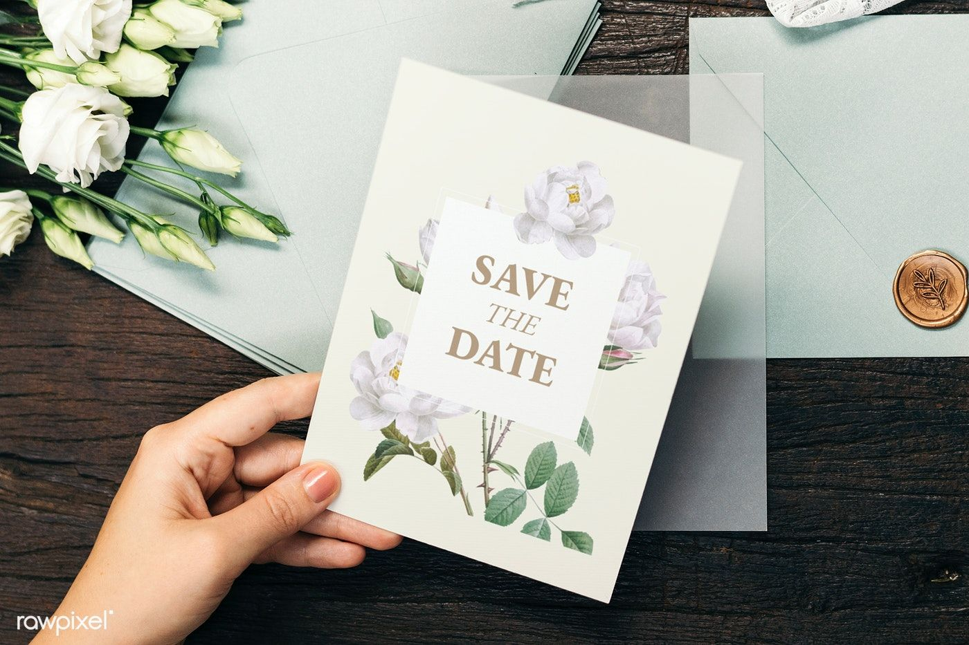 Download Premium Psd Of Woman With A Wedding Invitation Card Mockup 1209199 Wedding Invitation Cards Wedding Invitations Wedding Invitation Vector