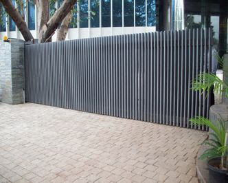 Image result for cool electric sliding gates