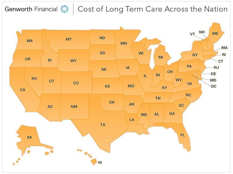 Learn about the cost of care in your area genworth cost