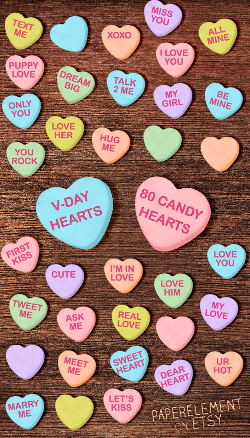50++ Valentine heart candy clipart ideas in 2021