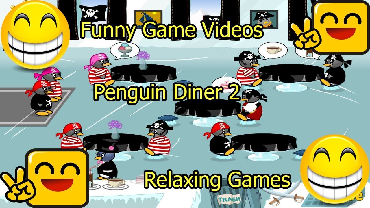 Funny Game Videos Relaxing Games Penguin Diner 2 11