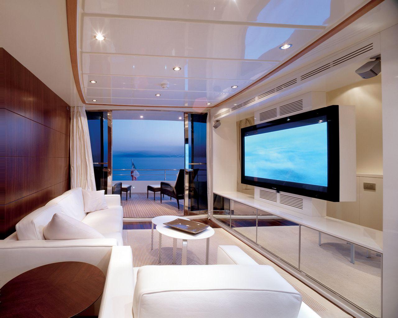 yacht interior design idea | YACHTS | Pinterest | Interiors and ...