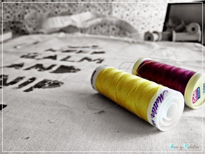 Las Creaciones de Bea y Natalia: Tote bag personalizada con plastidecors