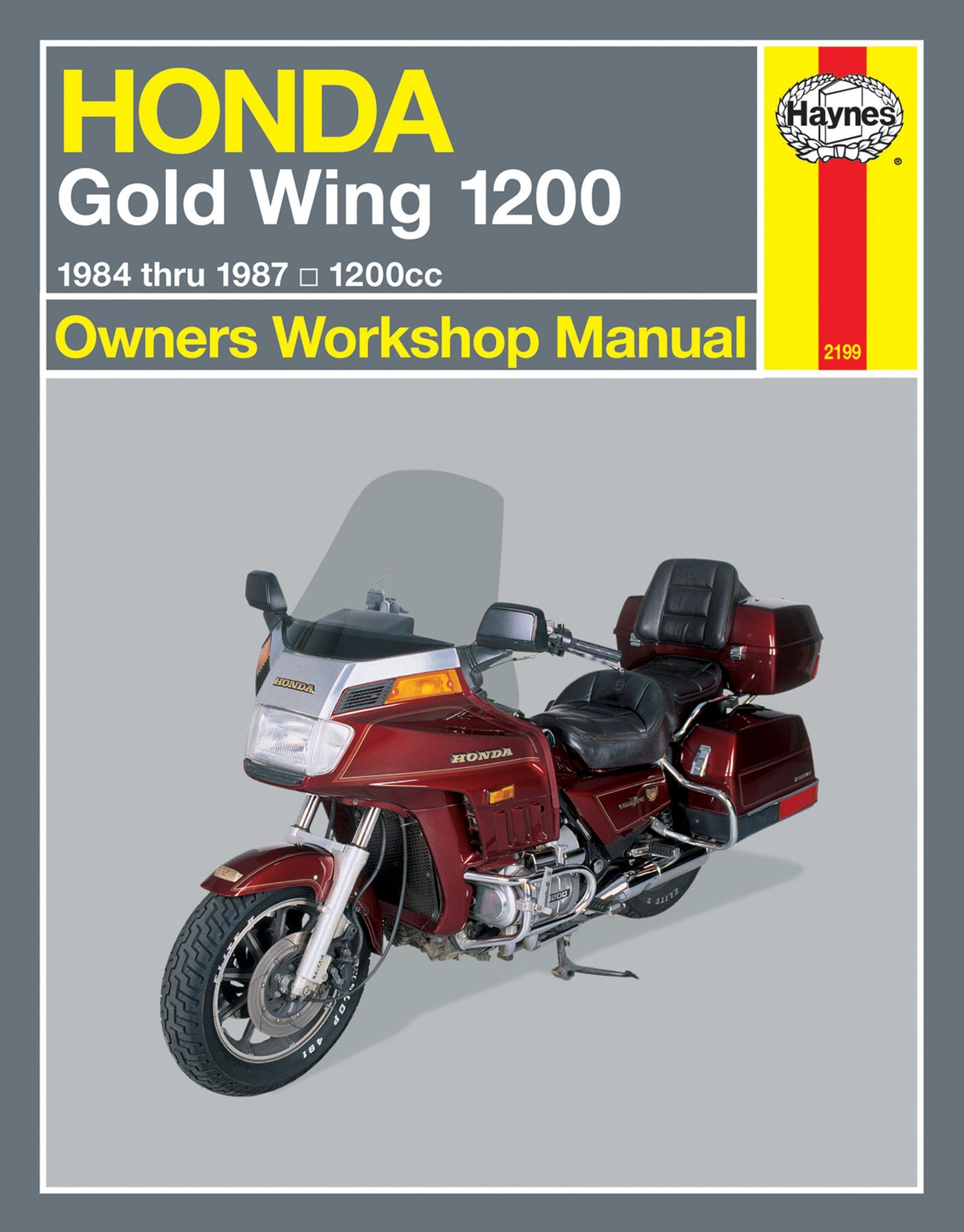 Haynes M2199 Repair Manual for 1984-87 Honda Gold Wing 1200