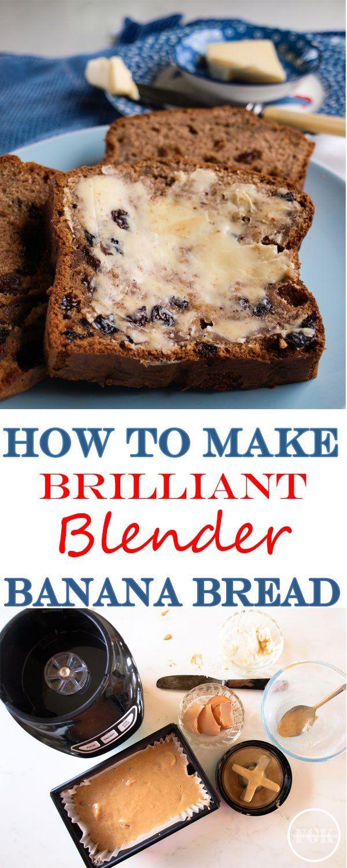 How to make brilliant blender banana bread its so easy recipes how to make brilliant blender banana bread its so easy forumfinder Image collections