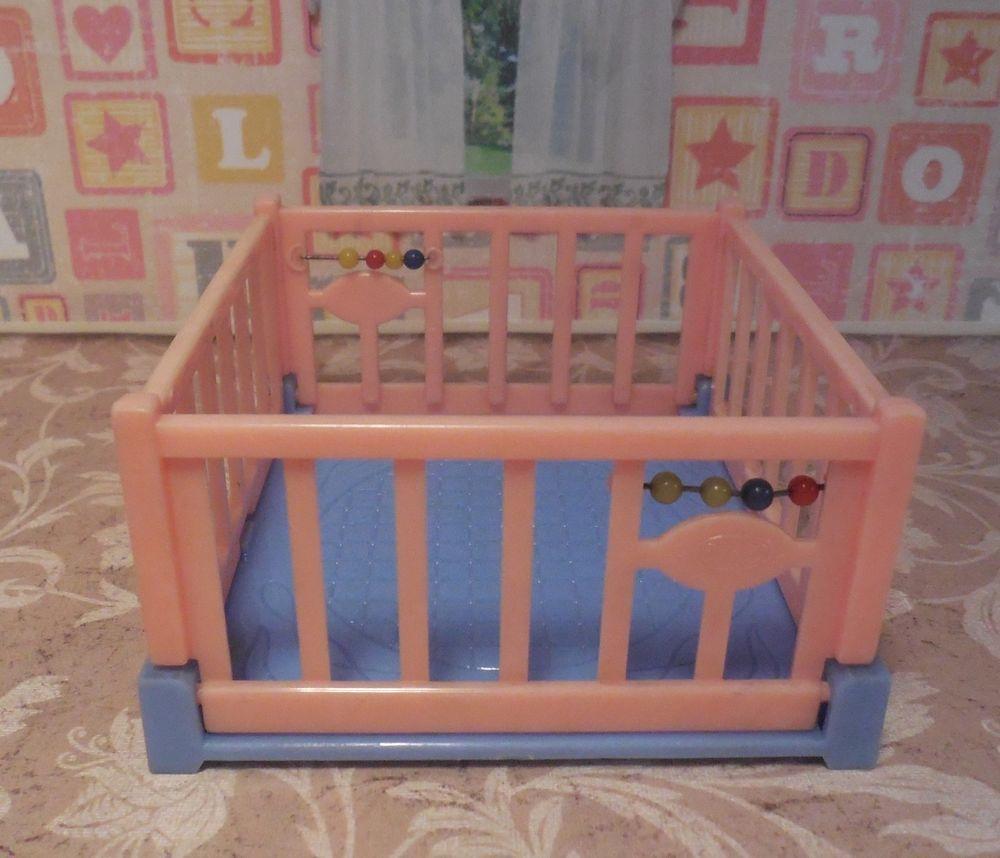 Vintage Tin Dollhouse Furniture Plastic 1:16 #Ideal