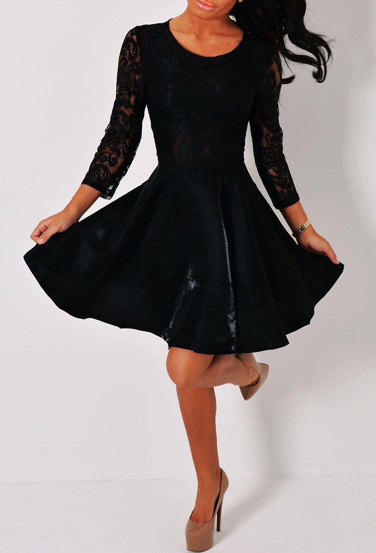 best ideas about black skater dresses on pinterest moto style