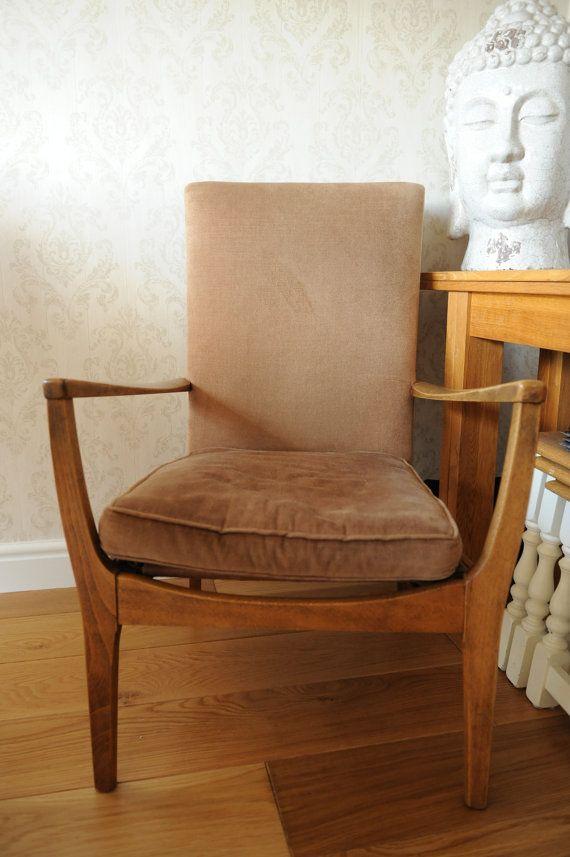 Vintage parker knoll upholstered chair model no 964 5 6 7 - Upholstered living room chairs sale ...