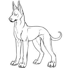 Top 25 Free Printable Dog Coloring Pages Online Dog Coloring