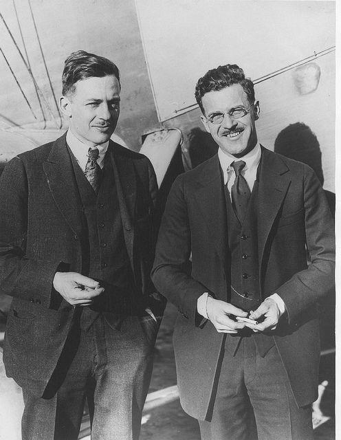 04 02366 Donald W Douglas And David R Davis Who Formed The Davis