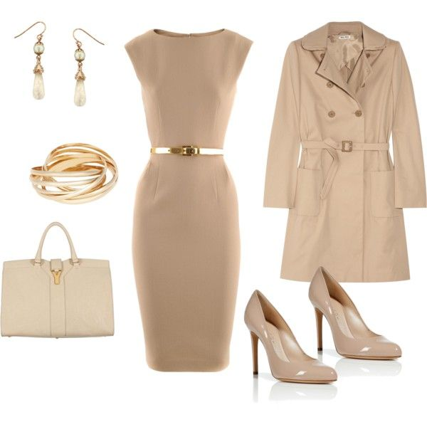 Nude, Beige, Cream... Oh, And Gold :)