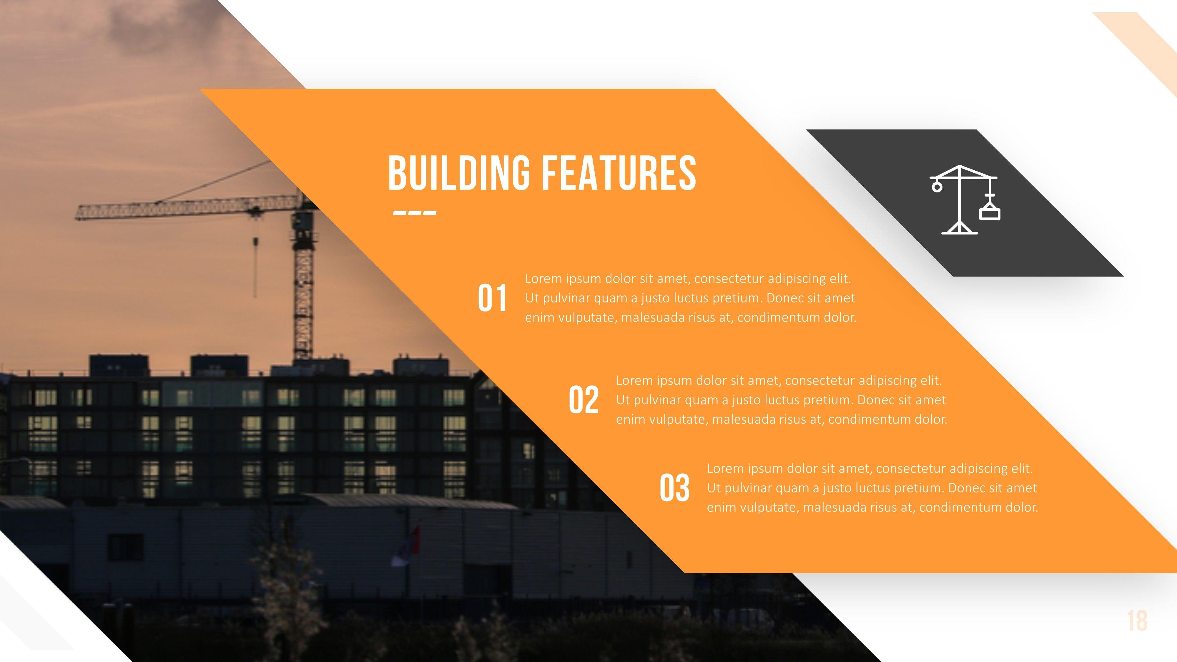 Keystone Construction Powerpoint Template Presentation